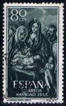 Sellos del Mundo : Europa : España :  1148  Navidad 1956