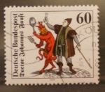 Stamps Germany -  doctor johannes fauft