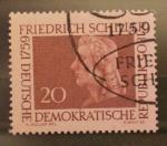 Stamps Germany -  friedrich schiller