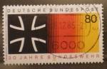Stamps Germany -  30 años bundeswehr