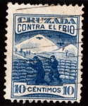 sellos de Europa - España -  CRUZADA CONTRA EL FRIO