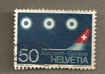 Stamps Europe - Switzerland -  Aeropuerto Ginebra