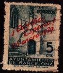 sellos de Europa - España -  Puerta Gótica Liberación Barcelona