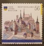 Sellos de Europa - Alemania -  100 años bautzen