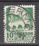 Sellos del Mundo : America : México : Edificio colonial