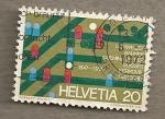 Stamps Switzerland -  Ferrocarriles