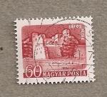 Stamps Hungary -  Ruinas castillo