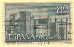 Stamps Spain -  1251  Monasterio de Ntra Sra de Guadalupe  (Vista general)