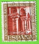 Sellos de Europa - España -  1366  Claustro del Monasterio de Silos