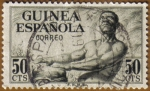 Stamps Spain -  GUINEA Tamborilero