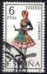 Sellos de Europa - España -  1960 Trajes típicos españoles. Toledo