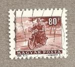 Sellos de Europa - Hungría -  Motorista