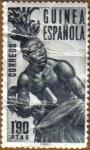 Stamps Spain -  GUINEA ESPAÑOLA - Tamborilero