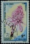 Stamps of the world : Democratic Republic of the Congo :  Phaeomeria magnifica