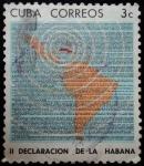 Sellos de America - Cuba -  II Declaraci�n de La Habana 1962