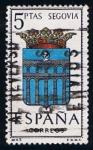 Sellos de Europa - España -  1637  Escudo de Segovia
