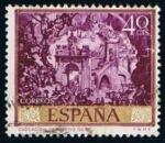 Sellos de Europa - España -  1711 Evocacion de Toledo