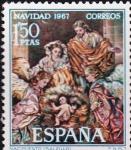 Sellos del Mundo : Europa : España : navidad 1967