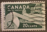 Stamps Canada -  pulp and paper