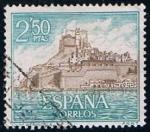 Stamps Spain -  1813 Pechiscola (Castellon)