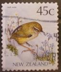 Sellos de Oceania - Nueva Zelanda -  rock wren