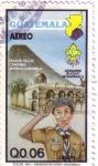 Stamps Guatemala -  Asociación Nacional de Scouts