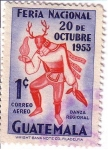 Stamps : America : Guatemala :  Feria Nacional