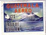 Stamps Guatemala -  Lago de Atitlán y Patos Poc