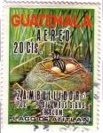 Stamps : America : Guatemala :  Lago de Atitlán y Patos Poc