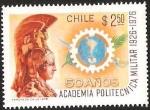 Sellos de America - Chile -  50° AÑOS ACADEMIA POLITECNICA MILITAR