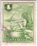 Stamps : America : Guatemala :  Indígena