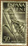 Sellos de Europa - España -  IFNI - Langosta