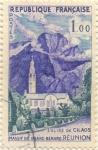 Sellos de Europa - Francia -  Eglise de Cilaos