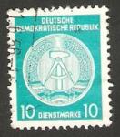 Sellos de Europa - Alemania -  19 - Blasón de la R.D.A.