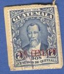 Sellos del Mundo : America : Guatemala : Justo Rufino Barrios n2