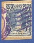 Sellos del Mundo : America : Guatemala : Justo Rufino Barrios 1929 n2