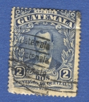 Sellos del Mundo : America : Guatemala : Justo Rufino Barrios 1929 n4