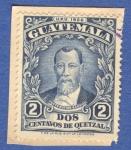 Sellos del Mundo : America : Guatemala : Justo Rufino Barrios 1929 n5