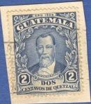 Sellos del Mundo : America : Guatemala : Justo Rufino Barrios 1929 n7