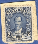 Sellos del Mundo : America : Guatemala : Justo Rufino Barrios 1929 n9