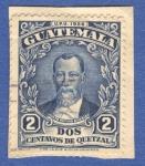 Sellos del Mundo : America : Guatemala : Justo Rufino Barrios 1929 n10