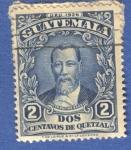 Sellos del Mundo : America : Guatemala : Justo Rufino Barrios 1929 n12