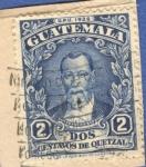 Sellos del Mundo : America : Guatemala : Justo Rufino Barrios 1929 n13