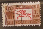 Stamps Italy -  sul bolletino