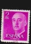 Sellos del Mundo : Europa : España : general francisco franco