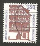 Sellos de Europa - Alemania -  1581 - Edificio de la ciudad de Suhl Heinrichs