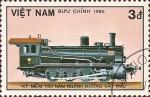 Stamps Vietnam -  150 Años de los Ferrocarriles Alemanes (V)
