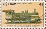 Stamps Vietnam -  150 Años de los Ferrocarriles Alemanes (VI)
