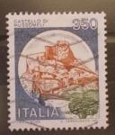 Stamps Italy -  castello di mussomeli