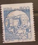 Stamps Italy -  castello normanno-melfi